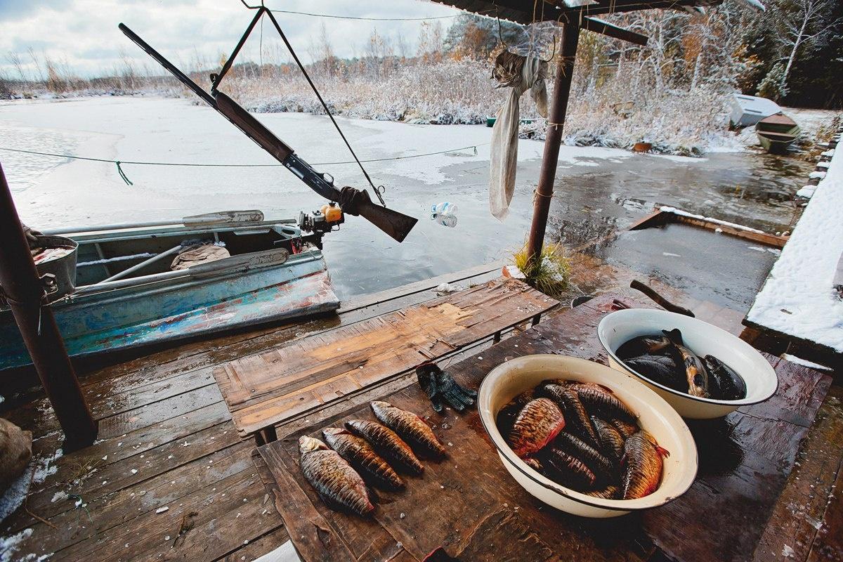 Рыбалка озеро светлое