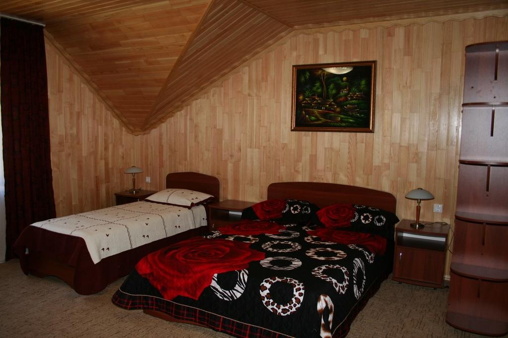 """База отдыха """"Медвежья гора"""" Республика Алтай 3-х местный гостиничный номер , фото 3"""