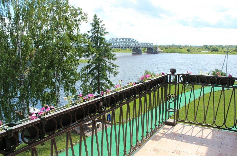 Речной клуб «Волхов мост» Новгородская область Люкс 2-комнатный с балконом, фото 4