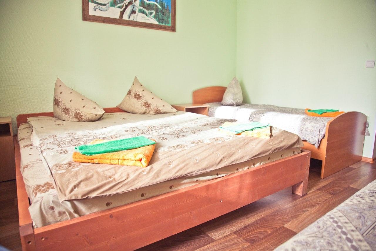 Турбаза «Здоровье» Мурманская область 4-местный номер, фото 1