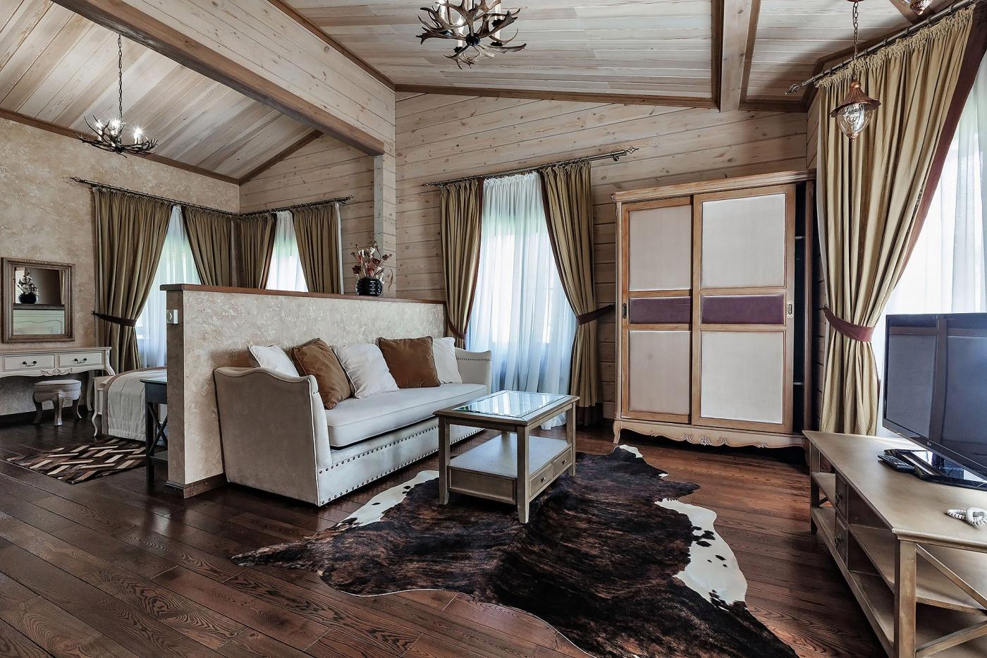 Туристический комплекс «Алтай Resort» Республика Алтай Номер «Студия», фото 3