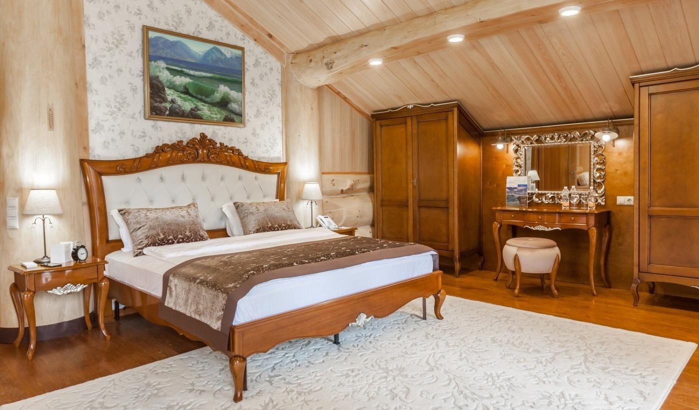 Туристический комплекс «Алтай Resort» Республика Алтай Номер «Люкс Гранд», фото 3