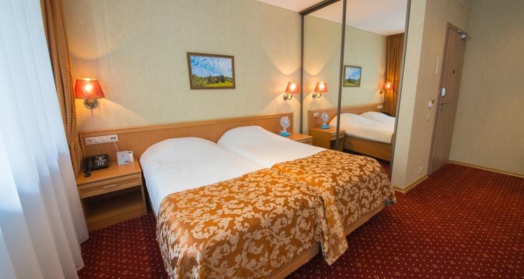 Парк-отель «Бухта Коприно» Ярославская область Номер 2-местный Twin/Double, фото 1