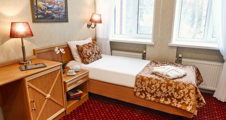 Парк-отель «Бухта Коприно» Ярославская область Номер 1-местный Single, фото 1