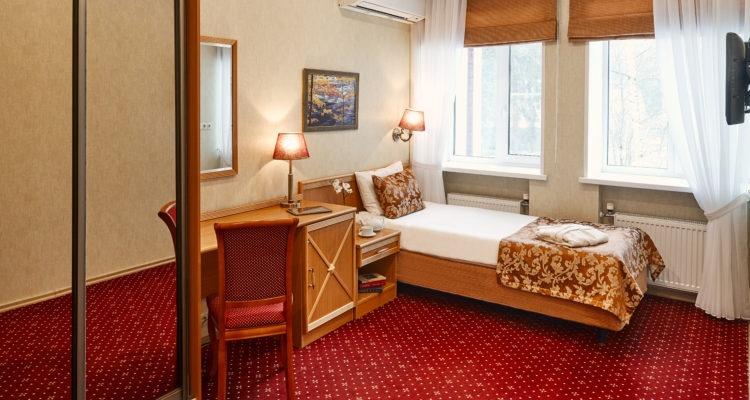 Парк-отель «Бухта Коприно» Ярославская область Номер 1-местный Single, фото 2