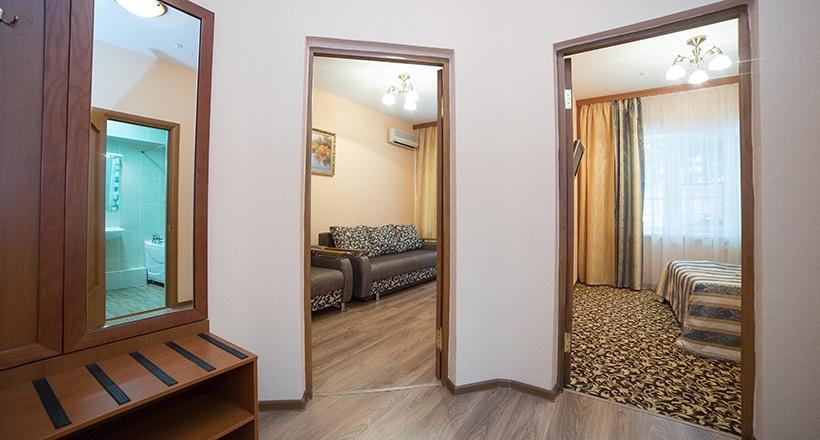 База отдыха «Улыбка» Белгородская область Номер «Люкс 2-комнатный», фото 5