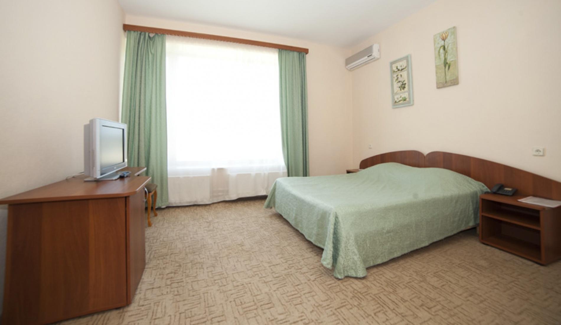 База отдыха «Улыбка» Белгородская область Номер «Люкс 2-комнатный с джакузи» в коттедже, фото 1