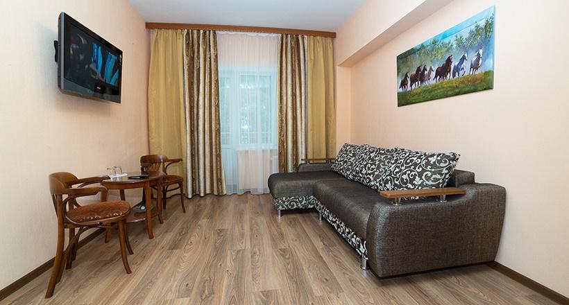 База отдыха «Улыбка» Белгородская область Номер «Люкс 2-комнатный», фото 2