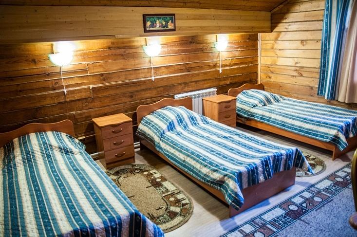 Мотель «Покровский медведь» Владимирская область Номер «Полулюкс» 4-местный №5,8 комплекс №1 , фото 1