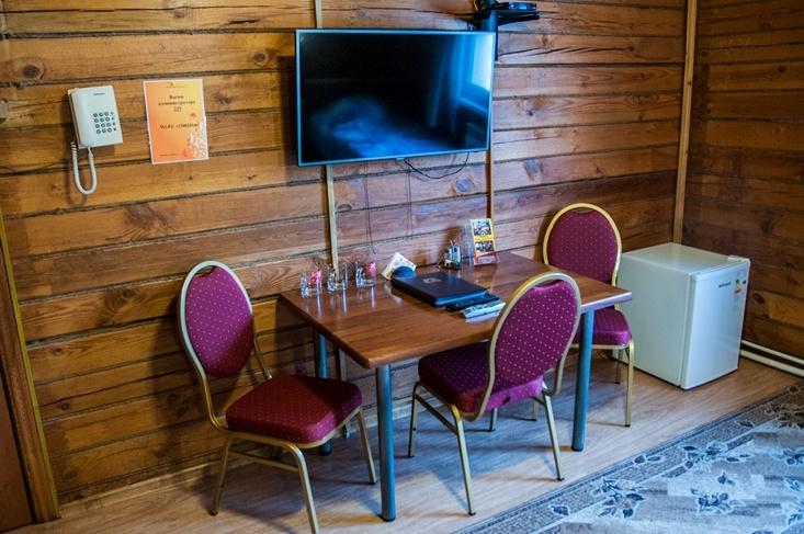 Мотель «Покровский медведь» Владимирская область Номер «Полулюкс» 3-местный №4,6,7 комплекс №1 , фото 5
