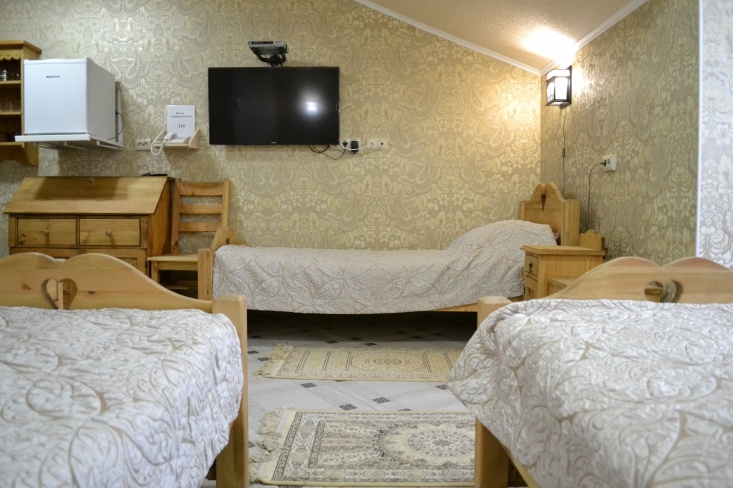 Мотель «Покровский медведь» Владимирская область Номер «Люкс» 3-местный №4,5,11 комплекс №3 , фото 5