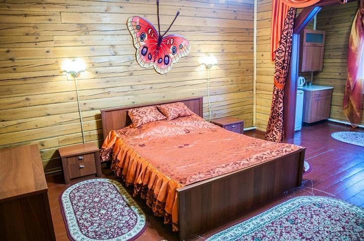 Мотель «Покровский медведь» Владимирская область Номер «Люкс» 2-местный № 2, 3, 4 комплекс № 2 , фото 2