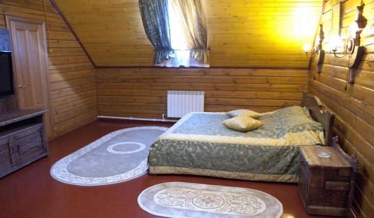 Мотель «Покровский медведь» Владимирская область Номер «Премиум Люкс» №9 комплекс №2, фото 1