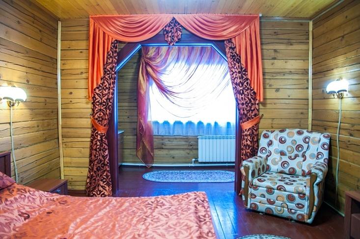 Мотель «Покровский медведь» Владимирская область Номер «Люкс» 2-местный № 2, 3, 4 комплекс № 2 , фото 5