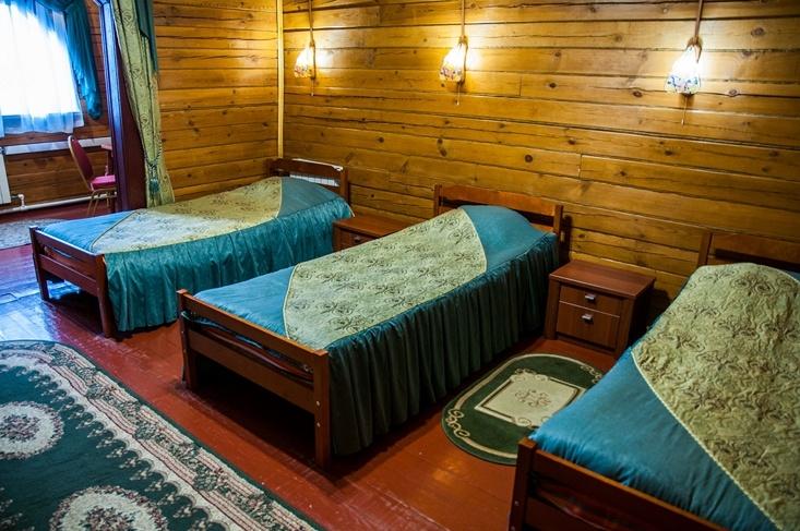 Мотель «Покровский медведь» Владимирская область Номер «Люкс» 3-местный №1,5 комплекс №2, фото 3