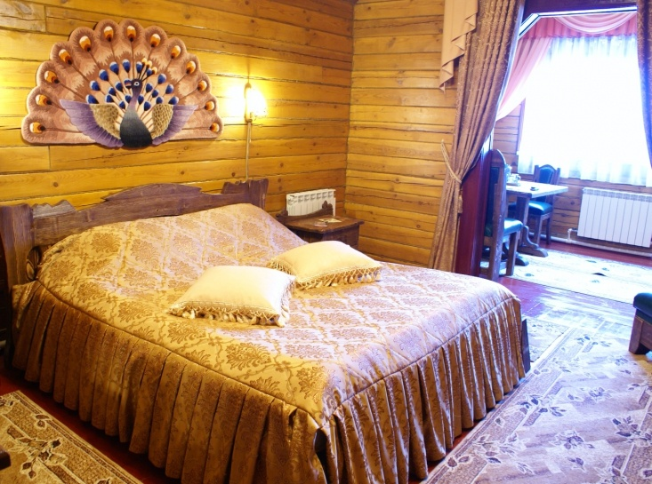 Мотель «Покровский медведь» Владимирская область Номер «Люкс» 2-местный № 6, 7, 8 комплекс № 2 , фото 1