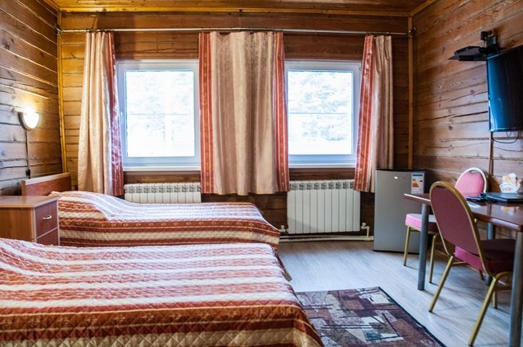 Мотель «Покровский медведь» Владимирская область Номер «Полулюкс» 3-местный № 2, 3 комплекс № 1, фото 2