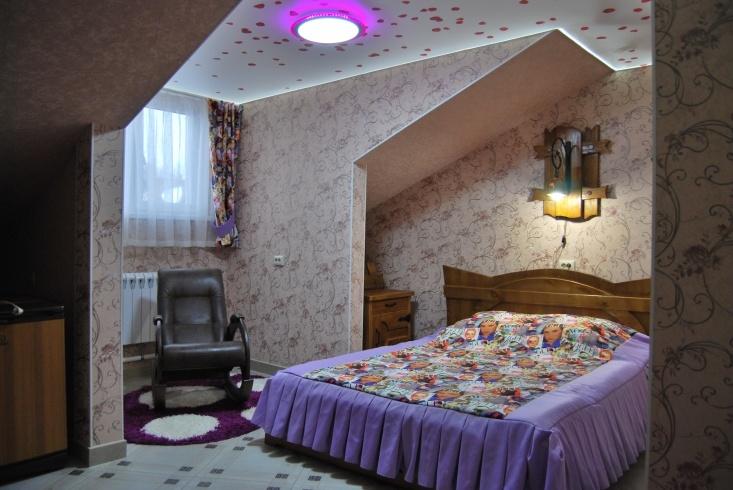 Мотель «Покровский медведь» Владимирская область Номер «Люкс» 2-местный №6 комплекс №3 , фото 1