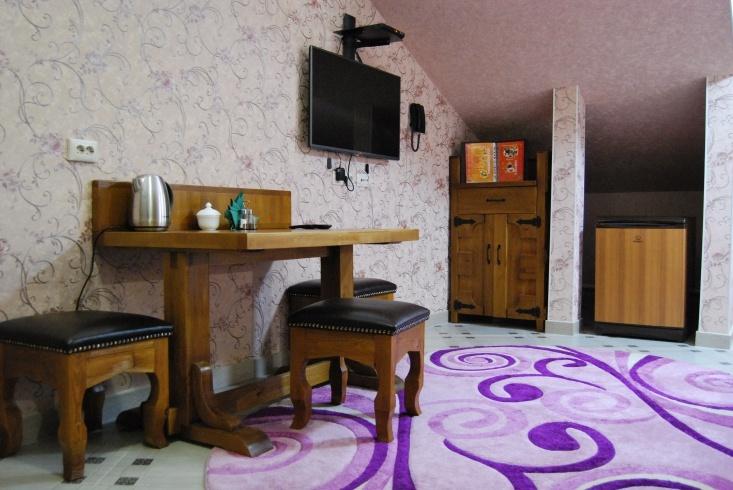 Мотель «Покровский медведь» Владимирская область Номер «Люкс» 2-местный № 6 комплекс № 3 , фото 2