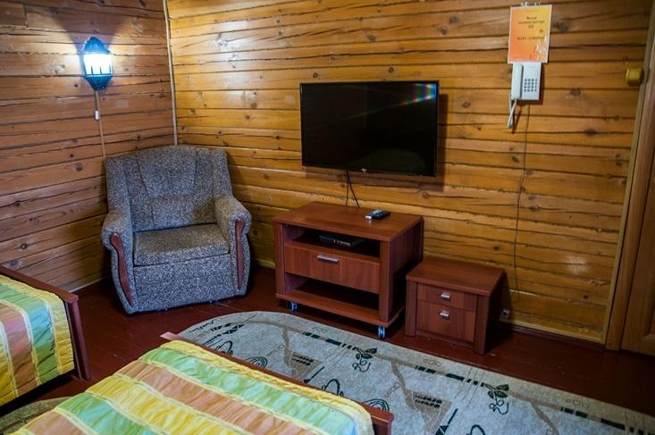 Мотель «Покровский медведь» Владимирская область Номер «Люкс» 3-местный №1,5 комплекс №2, фото 5