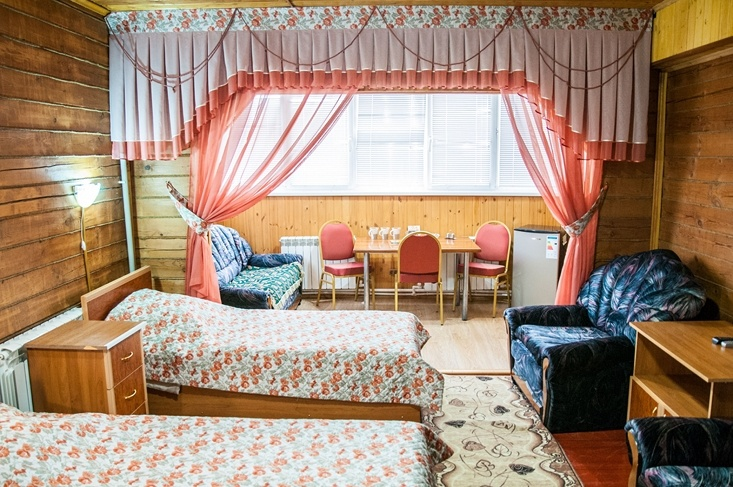 Мотель «Покровский медведь» Владимирская область Номер «Полулюкс» 3-местный №4,6,7 комплекс №1 , фото 3