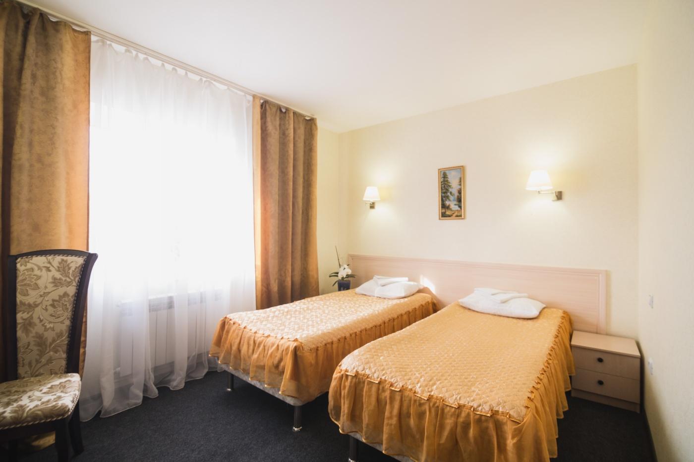 Гостиничный комплекс «Святогор» Владимирская область Двухместный «Стандарт» с 1 или 2 кроватями, фото 7