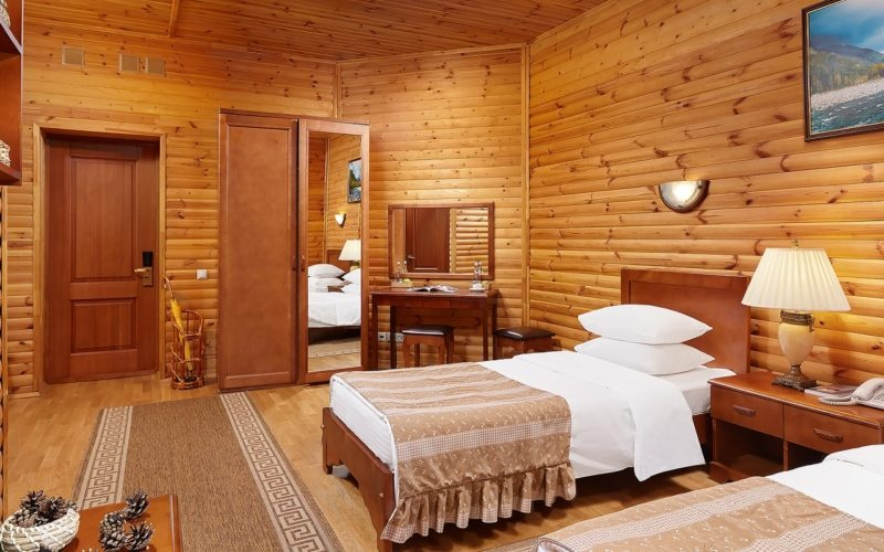 Эко-отель «ВеЛес» Владимирская область 2-местный номер «Стандарт», фото 2