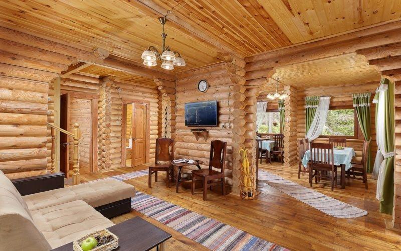 Эко-отель «ВеЛес» Владимирская область Коттедж 4-комнатный 8-местный, фото 4