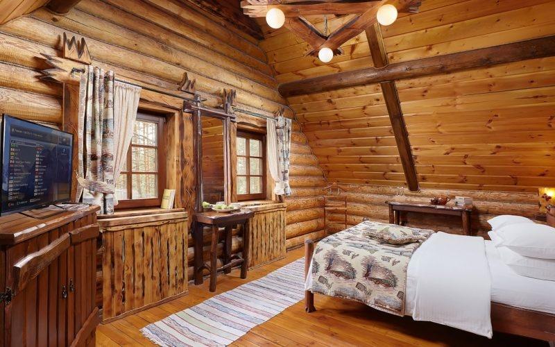 Эко-отель «ВеЛес» Владимирская область Коттедж 2-комнатный 4-местный, фото 2