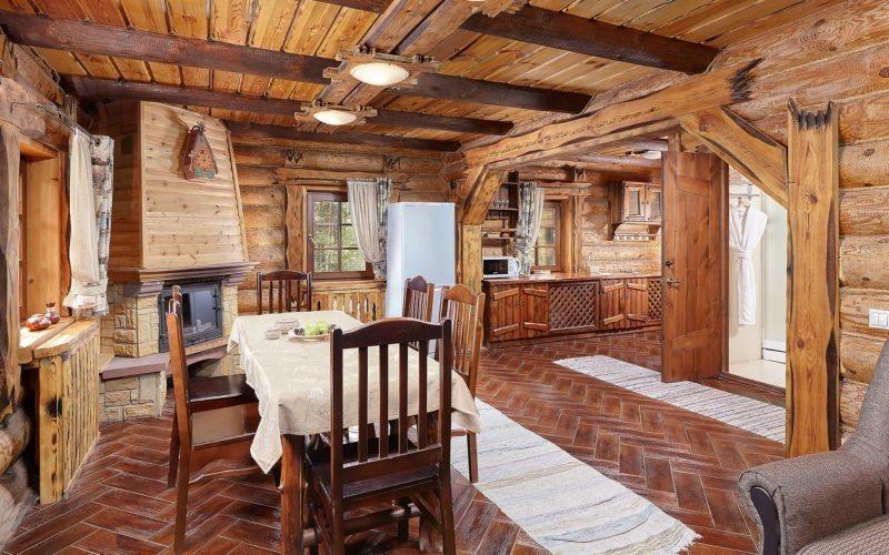 Эко-отель «ВеЛес» Владимирская область Коттедж 2-комнатный 4-местный, фото 3