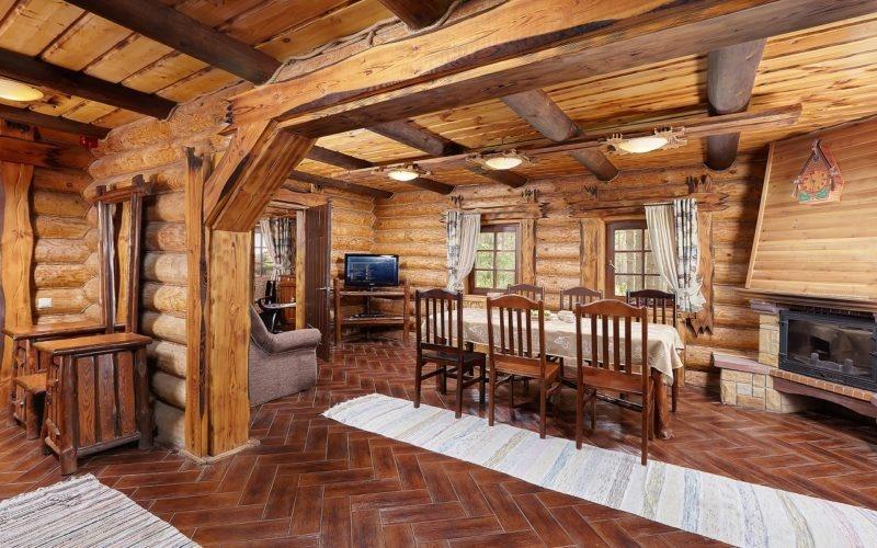 Эко-отель «ВеЛес» Владимирская область Коттедж 2-комнатный 4-местный, фото 4
