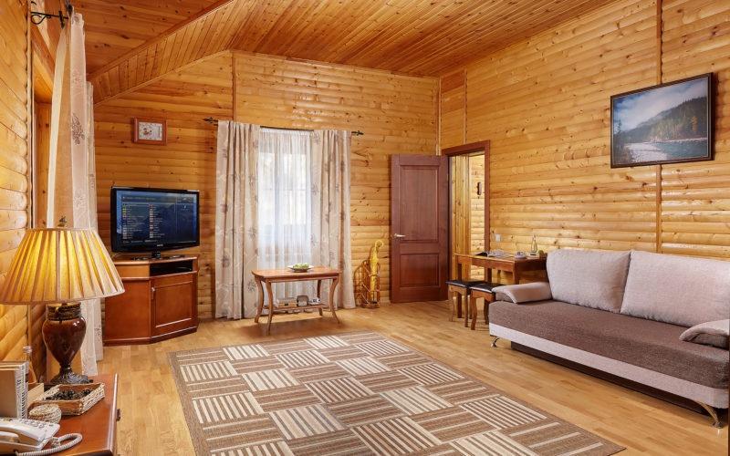 Эко-отель «ВеЛес» Владимирская область 2-комнатный номер «Люкс», фото 2