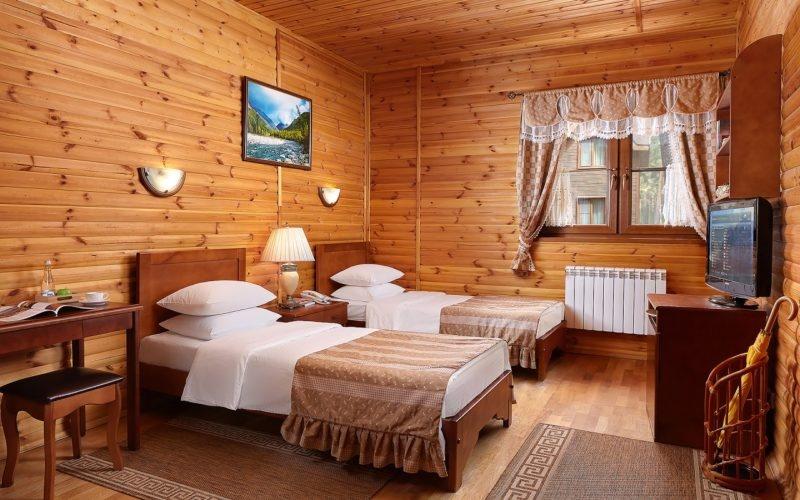 Эко-отель «ВеЛес» Владимирская область 2-местный номер «Стандарт», фото 1