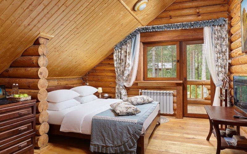 Эко-отель «ВеЛес» Владимирская область Коттедж 4-комнатный 8-местный, фото 2