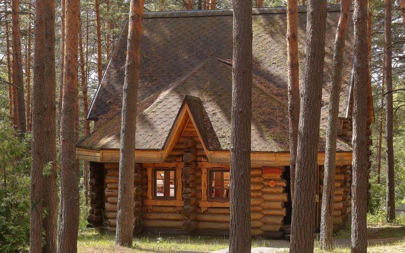 Эко-отель «ВеЛес» Владимирская область Коттедж 2-комнатный 4-местный, фото 1