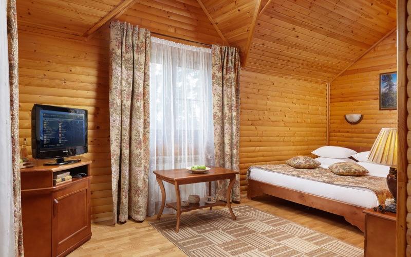 Эко-отель «ВеЛес» Владимирская область 2-комнатный номер «Люкс», фото 1