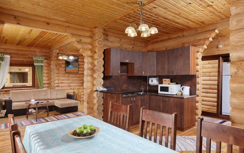 Эко-отель «ВеЛес» Владимирская область Коттедж 4-комнатный 8-местный, фото 6