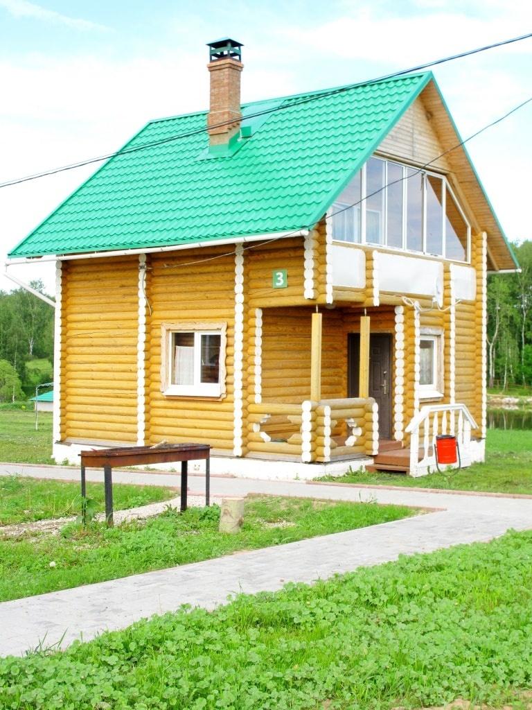 База отдыха Эко-парк «Рождествено» Калужская область Дом 6-местный, фото 1