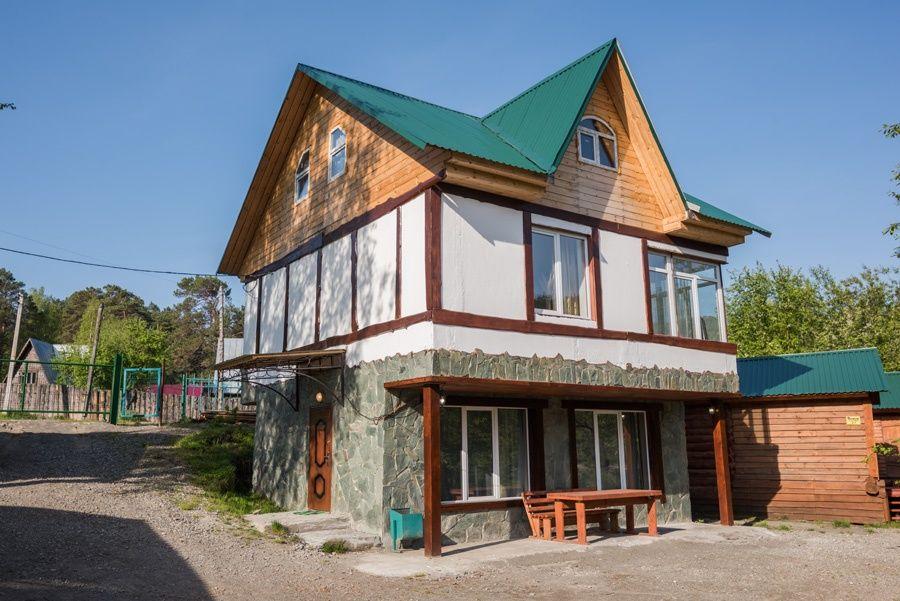 База отдыха «Тихий берег» Республика Алтай «Охотничий дом», фото 1