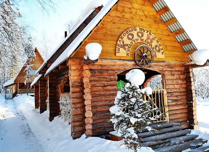 Туристический комплекс «Эдем» Республика Алтай Таежный домик в «Кооно», фото 1