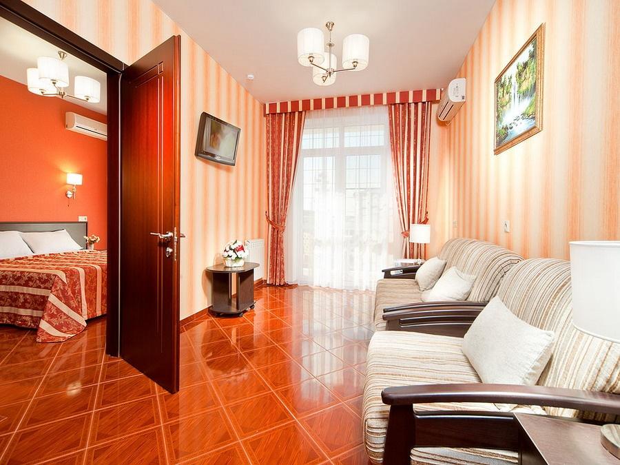 Отель «Константинополь» Краснодарский край Люкс 2-комнатный , фото 2