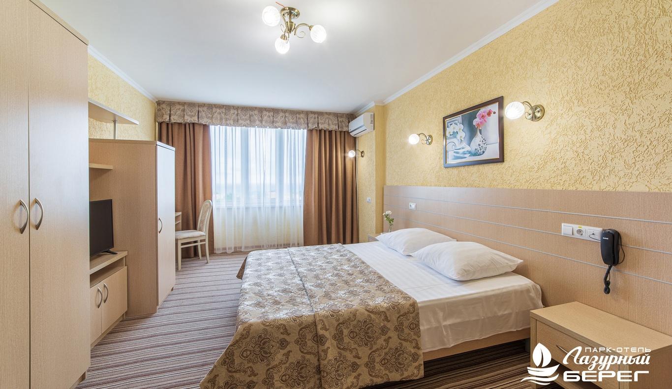 Парк-отель «Лазурный берег» Краснодарский край Студия, фото 1