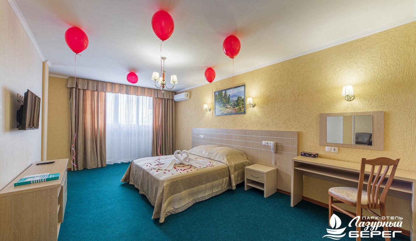 Парк-отель «Лазурный берег» Краснодарский край Студия Сьюит, фото 1