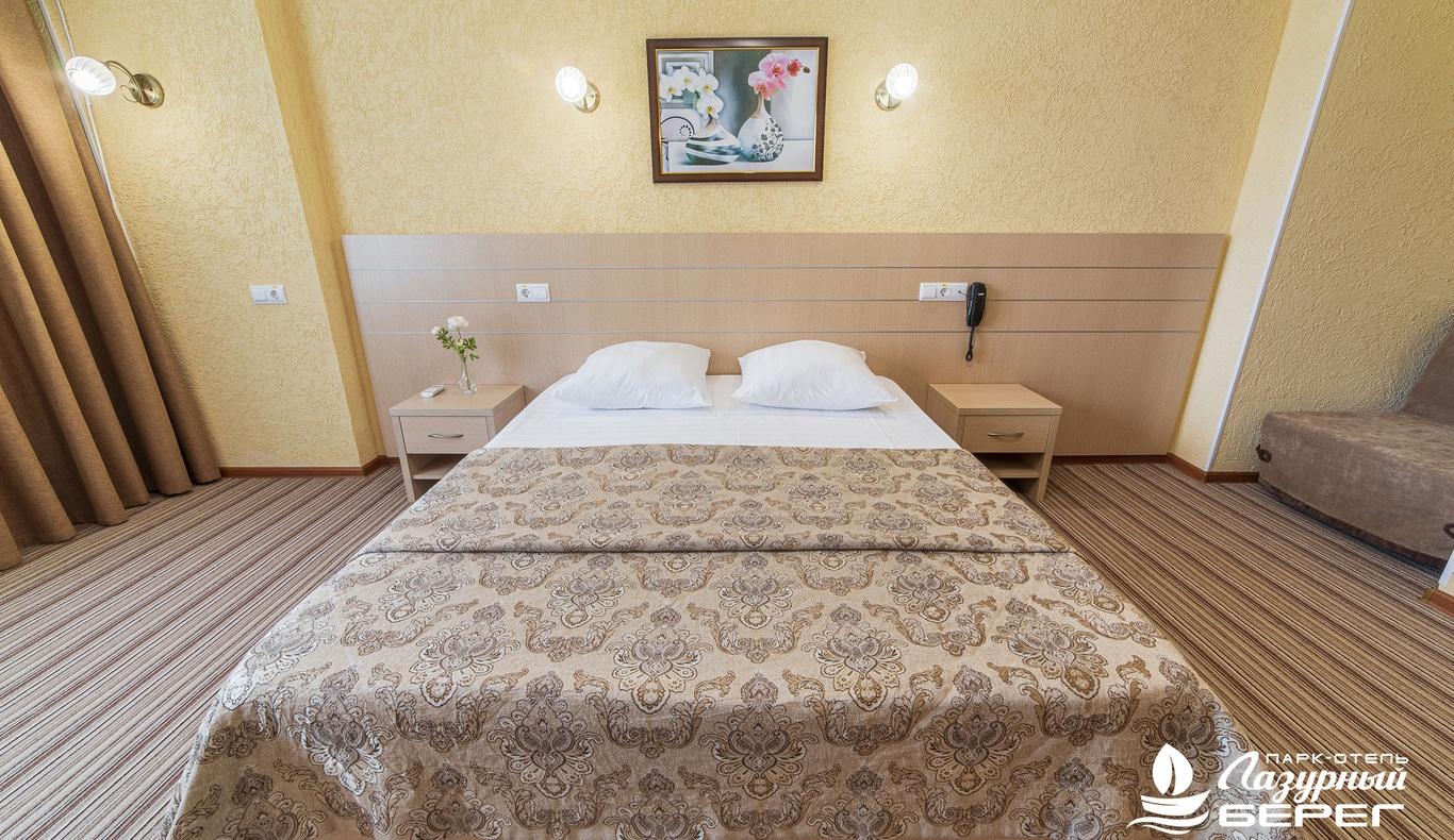 Парк-отель «Лазурный берег» Краснодарский край Студия, фото 3