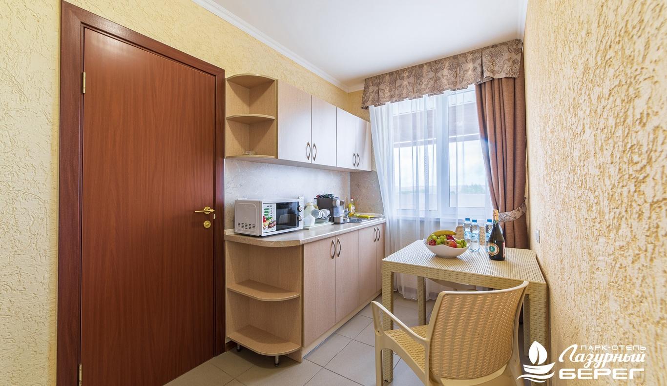 Парк-отель «Лазурный берег» Краснодарский край Студия, фото 2