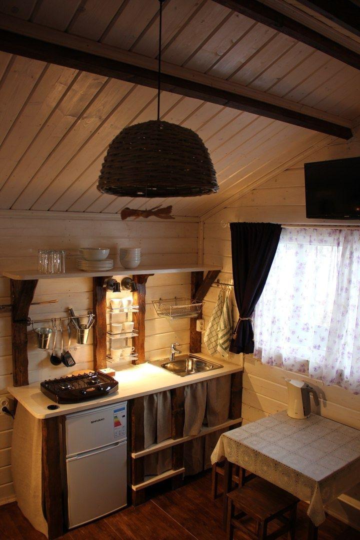 База отдыха «Хутор Салокюля» Республика Карелия Коттедж с камином и террасой, фото 4