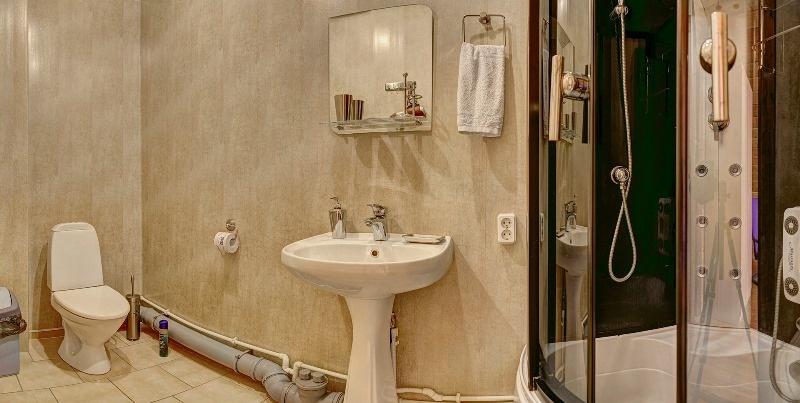 База отдыха «Белый Яр» Костромская область Номер №82 в гостинице (Дом №8) , фото 4