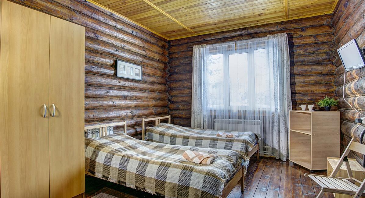 """База отдыха """"Белый Яр"""" Костромская область Номер №4 в гостинице, фото 2"""
