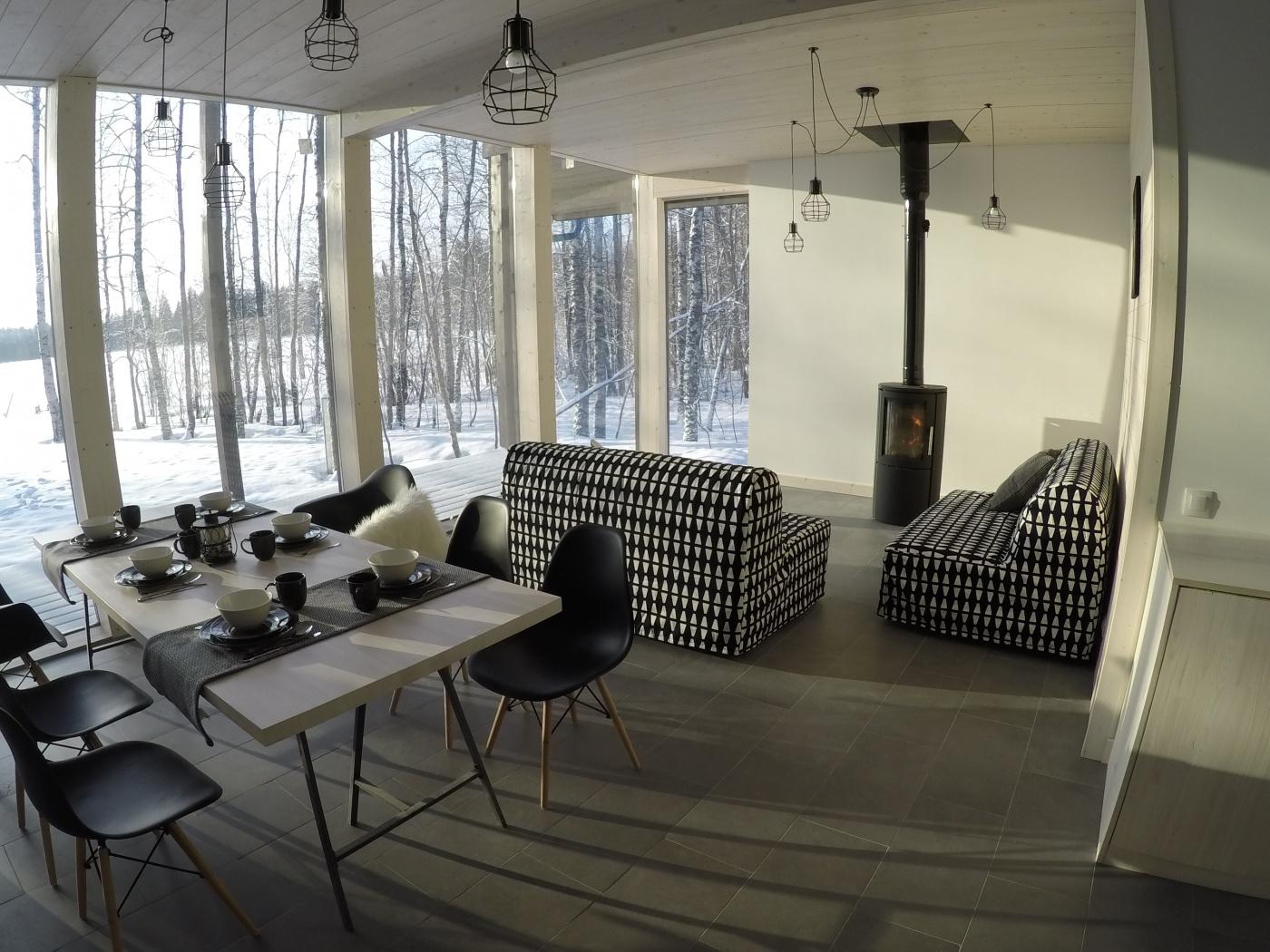 Коттеджный комплекс «Ахвенлампи» Республика Карелия Лофт-хаус «Матриярви», фото 5