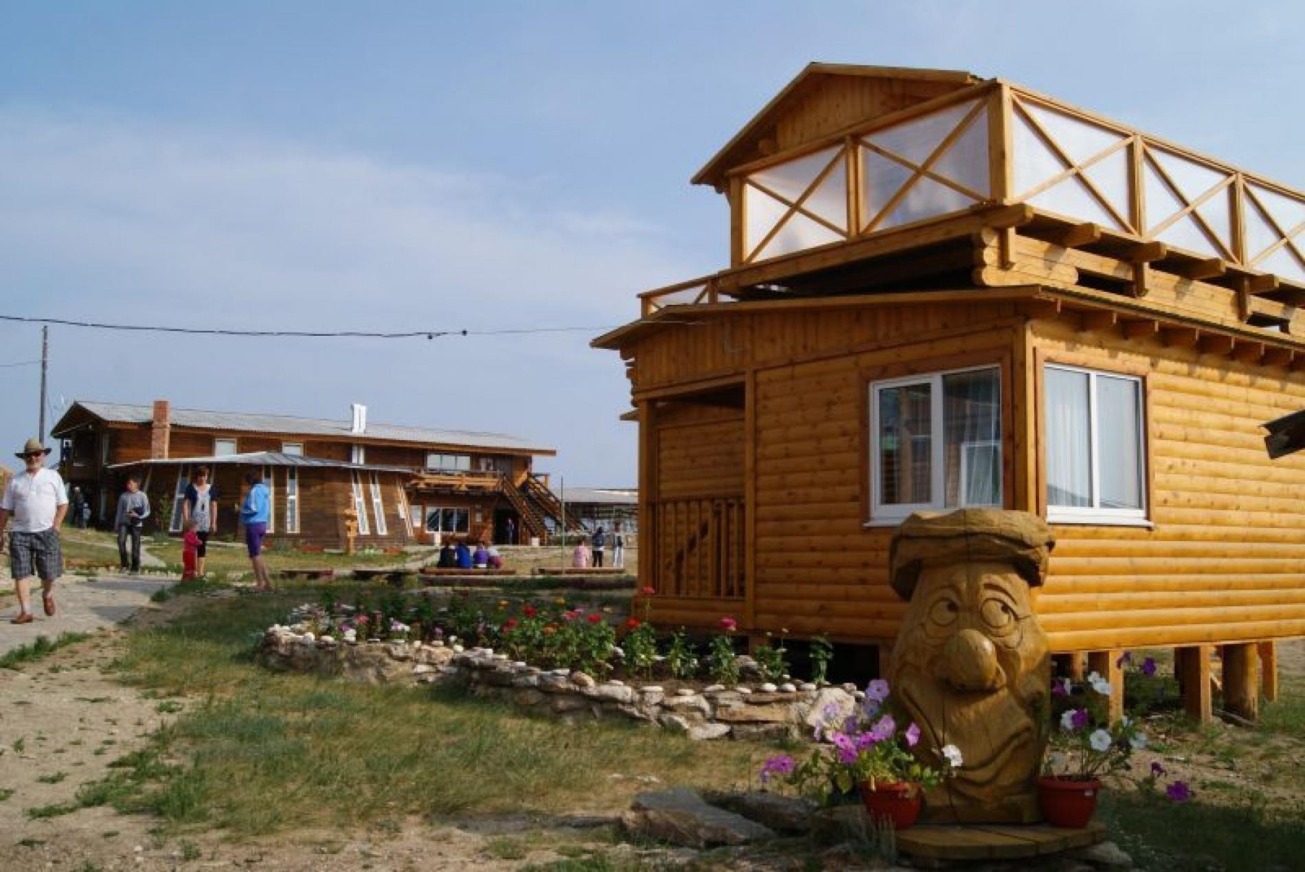 База отдыха «Ветер Странствий» Иркутская область 2-местный летний домик, фото 1